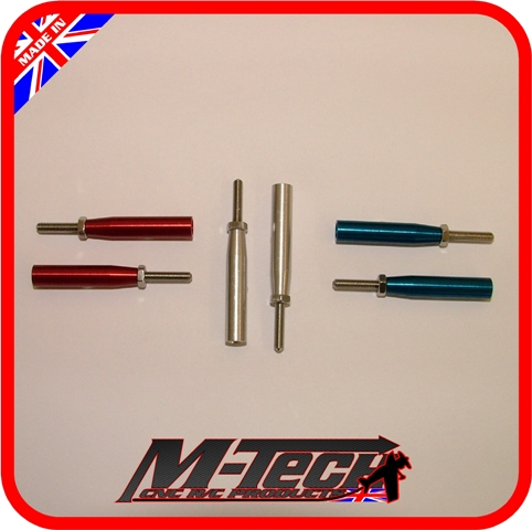 2mm Threaded End Body for 4mm Tube